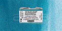 Schmincke - Schmincke Horadam Aquarell 1/1 Tablet 510 Cobalt Green Turquoise seri 4