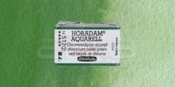 Schmincke - Schmincke Horadam Aquarell 1/1 Tablet 512 Chromium Oxide Green seri 2