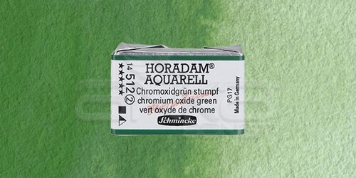Schmincke Horadam Aquarell 1/1 Tablet 512 Chromium Oxide Green seri 2 - 512 Chromium Oxide Green