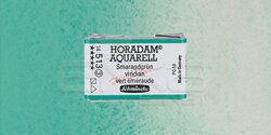 Schmincke - Schmincke Horadam Aquarell 1/1 Tablet 513 Viridian seri 3