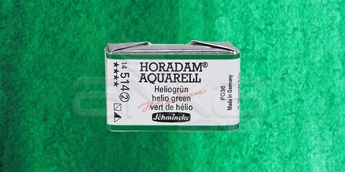 Schmincke Horadam Aquarell 1/1 Tablet 514 Helio Green seri 2 - 514 Helio Green