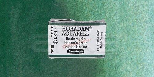 Schmincke Horadam Aquarell 1/1 Tablet 521 Phthalo Green seri 1 - 521 Phthalo Green