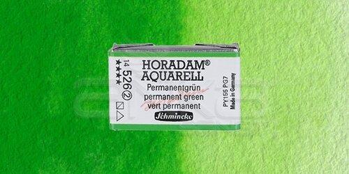 Schmincke Horadam Aquarell 1/1 Tablet 526 Permanent Green seri 2 - 526 Permanent Green
