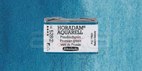 Schmincke Horadam Aquarell 1/1 Tablet 528 Prussian Green seri 2 - 528 Prussian Green