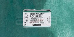Schmincke - Schmincke Horadam Aquarell 1/1 Tablet 533 Cobalt Green Dark seri 4