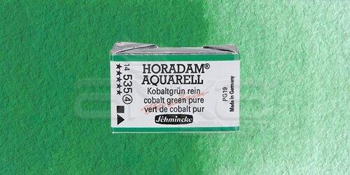 Schmincke Horadam Aquarell 1/1 Tablet 535 Cobalt Green Pure seri 4 - 535 Cobalt Green Pure