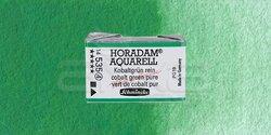Schmincke - Schmincke Horadam Aquarell 1/1 Tablet 535 Cobalt Green Pure seri 4