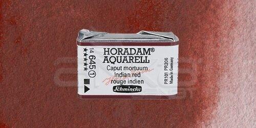 Schmincke Horadam Aquarell 1/1 Tablet 645 Indian Red seri 1 - 645 Indian Red
