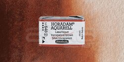 Schmincke - Schmincke Horadam Aquarell 1/1 Tablet 648 Translucent Brown seri 2