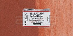 Schmincke - Schmincke Horadam Aquarell 1/1 Tablet 649 English-Venetian Red seri 1