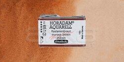 Schmincke - Schmincke Horadam Aquarell 1/1 Tablet 651 Maroon Brown seri 2