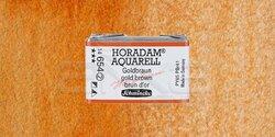 Schmincke - Schmincke Horadam Aquarell 1/1 Tablet 654 Gold Brown seri 2