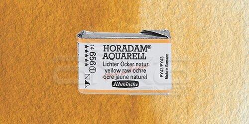 Schmincke Horadam Aquarell 1/1 Tablet 656 Yellow Raw Ochre seri 1 - 656 Yellow Raw Ochre