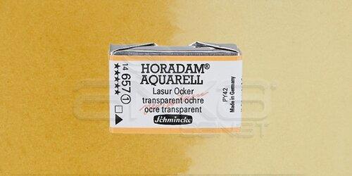 Schmincke Horadam Aquarell 1/1 Tablet 657 Transparent Ochre seri 1 - 657 Transparent Ochre