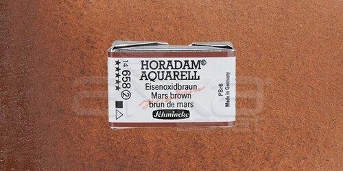Schmincke Horadam Aquarell 1/1 Tablet 658 Mars Brown seri 2 - 658 Mars Brown