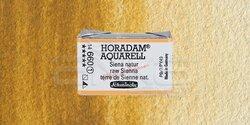 Schmincke - Schmincke Horadam Aquarell 1/1 Tablet 660 Raw Sienna seri 1