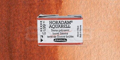 Schmincke Horadam Aquarell 1/1 Tablet 661 Burnt Sienna seri 1 - 661 Burnt Sienna