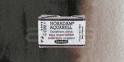 Schmincke - Schmincke Horadam Aquarell 1/1 Tablet 662 Sepia Brown Tone seri 1