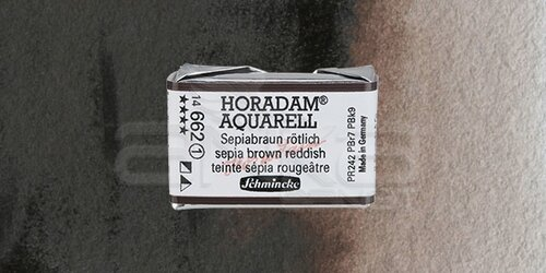 Schmincke Horadam Aquarell 1/1 Tablet 662 Sepia Brown Tone seri 1 - 662 Sepia Brown Tone