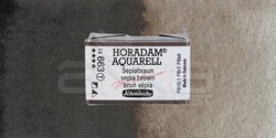 Schmincke - Schmincke Horadam Aquarell 1/1 Tablet 663 Sepia Brown seri 1