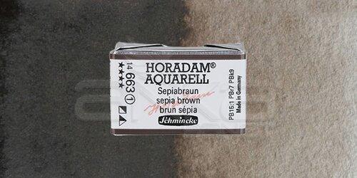 Schmincke Horadam Aquarell 1/1 Tablet 663 Sepia Brown seri 1 - 663 Sepia Brown
