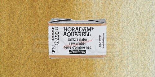Schmincke Horadam Aquarell 1/1 Tablet 667 Raw Umber seri 1 - 667 Raw Umber