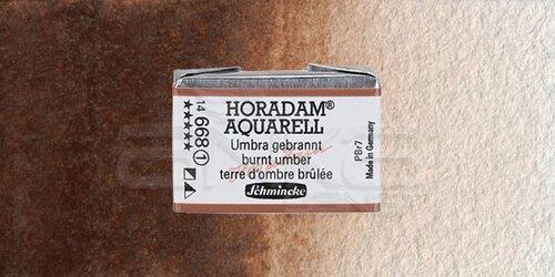 Schmincke Horadam Aquarell 1/1 Tablet 668 Burnt Umber seri 1 - 668 Burnt Umber