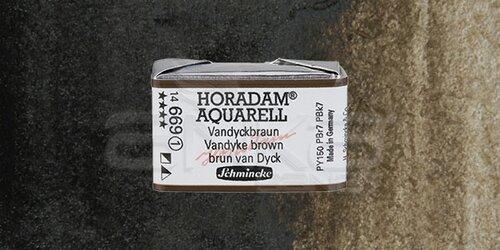 Schmincke Horadam Aquarell 1/1 Tablet 669 Vandyke Brown seri 1 - 669 Vandyke Brown