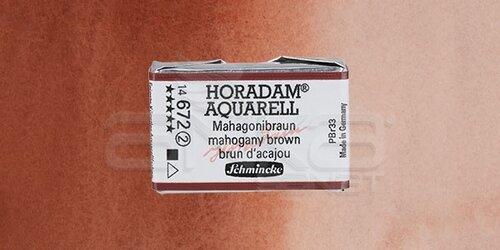 Schmincke Horadam Aquarell 1/1 Tablet 672 Mahogany Brown seri 2 - 672 Mahogany Brown