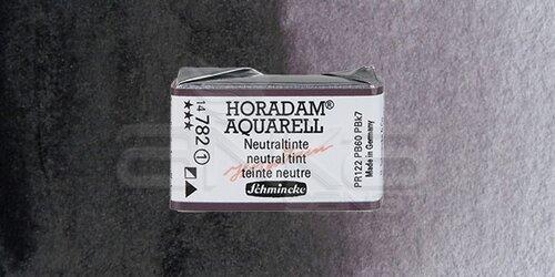 Schmincke Horadam Aquarell 1/1 Tablet 782 Neutral Tint seri 1 - 782 Neutral Tint