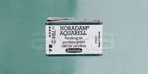 Schmincke Horadam Aquarell 1/1 Tablet 784 Perylene Green seri 2 - 784 Perylene Green