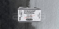 Schmincke - Schmincke Horadam Aquarell 1/1 Tablet 786 Anthracite seri 1