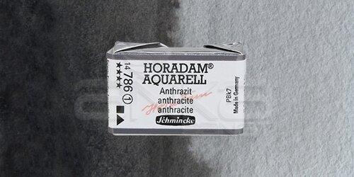 Schmincke Horadam Aquarell 1/1 Tablet 786 Anthracite seri 1 - 786 Anthracite