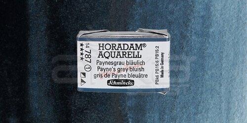 Schmincke Horadam Aquarell 1/1 Tablet 787 Paynes Grey Bluish seri 1 - 787 Payne`s Grey Bluish