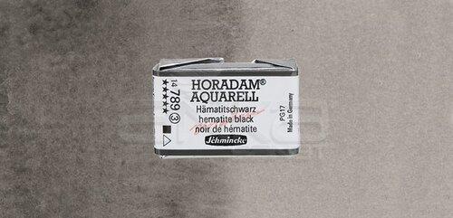 Schmincke Horadam Aquarell 1/1 Tablet 789 Hematite Black seri 3 - 789 Hematite Black