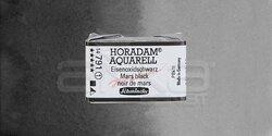 Schmincke - Schmincke Horadam Aquarell 1/1 Tablet 791 Mars Black seri 1