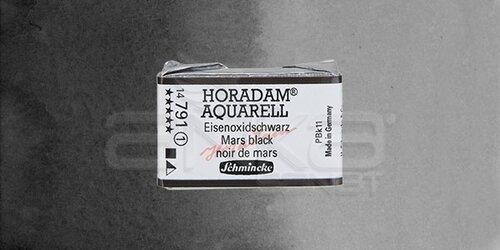Schmincke Horadam Aquarell 1/1 Tablet 791 Mars Black seri 1 - 791 Mars Black