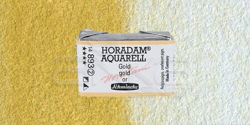 Schmincke Horadam Aquarell 1/1 Tablet 893 Gold seri 2 - 893 Gold