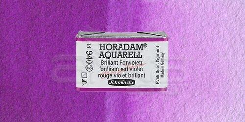 Schmincke Horadam Aquarell 1/1 Tablet 940 Brilliant Red Violet seri 2 - 940 Brilliant Red Violet