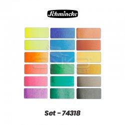 Schmincke - Schmincke Horadam Aquarell Sulu Boya Seti 18 Renk 1/1 Tablet Kod:74318 (1)