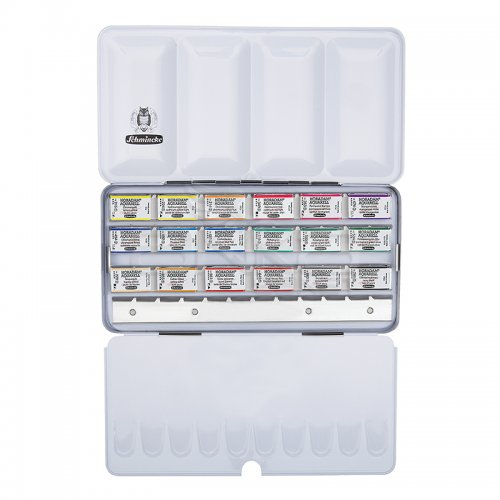 Schmincke Horadam Aquarell Sulu Boya Seti 18 Renk 1/1 Tablet Kod:74318