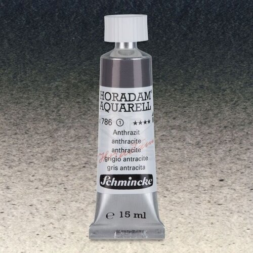 Schmincke Horadam Aquarell Tube 15ml Seri 1 Charcoal Grey 786