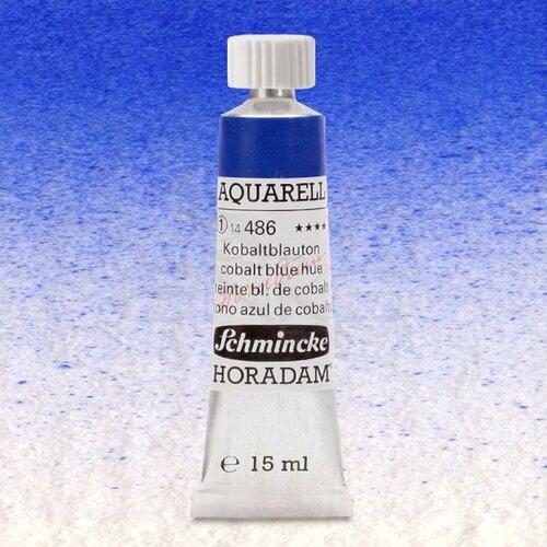 Schmincke Horadam Aquarell Tube 15ml Seri 1 Cobalt Blue Tone 486