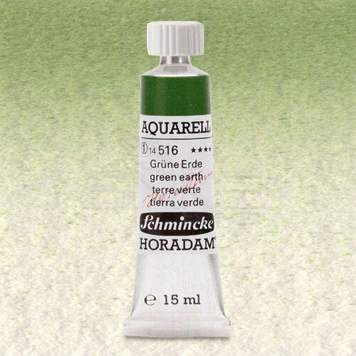 Schmincke Horadam Aquarell Tube 15ml Seri 1 Green Earth 516