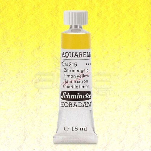Schmincke Horadam Aquarell Tube 15ml Seri 1 Lemon Yellow 215