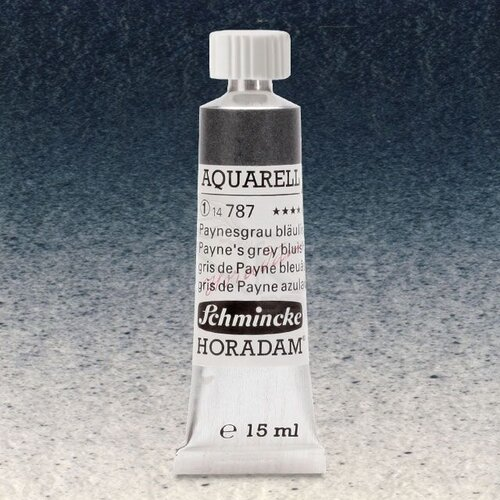 Schmincke Horadam Aquarell Tube 15ml Seri 1 Paynes Grey Bluish 787