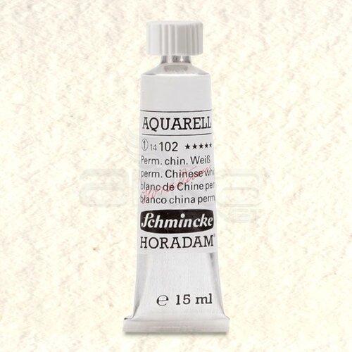 Schmincke Horadam Aquarell Tube 15ml Seri 1 Permanent Chinese White 102