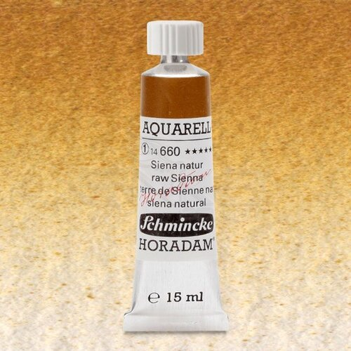 Schmincke Horadam Aquarell Tube 15ml Seri 1 Raw Sienna 660