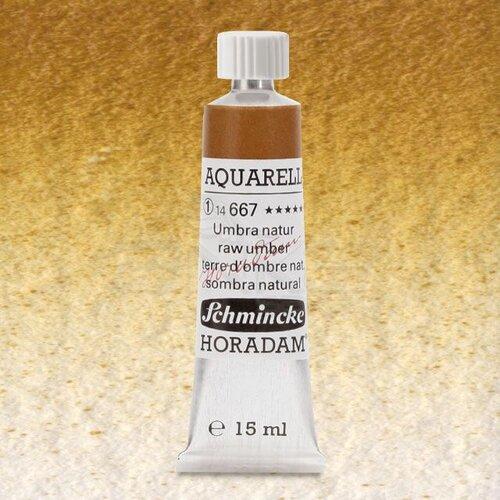 Schmincke Horadam Aquarell Tube 15ml Seri 1 Raw Umber 667