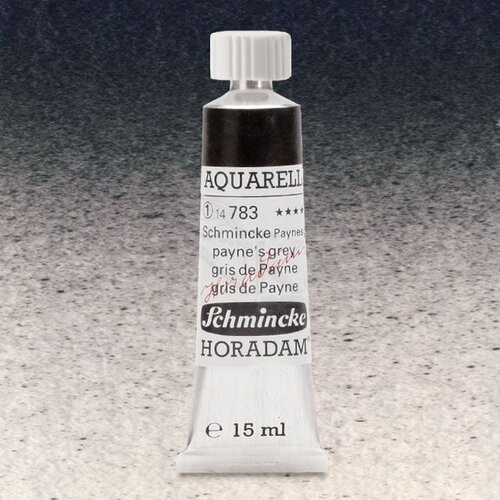 Schmincke Horadam Aquarell Tube 15ml Seri 1 Schmincke Paynes Grey 783
